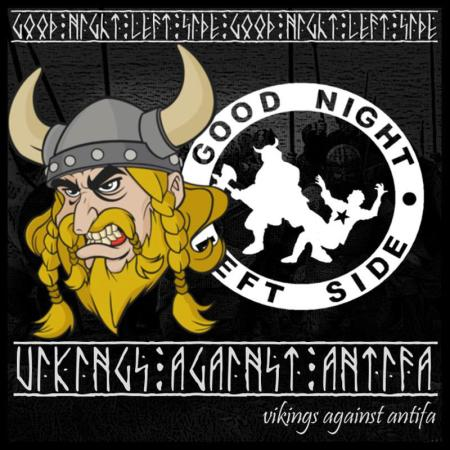 Vikings against Antifa